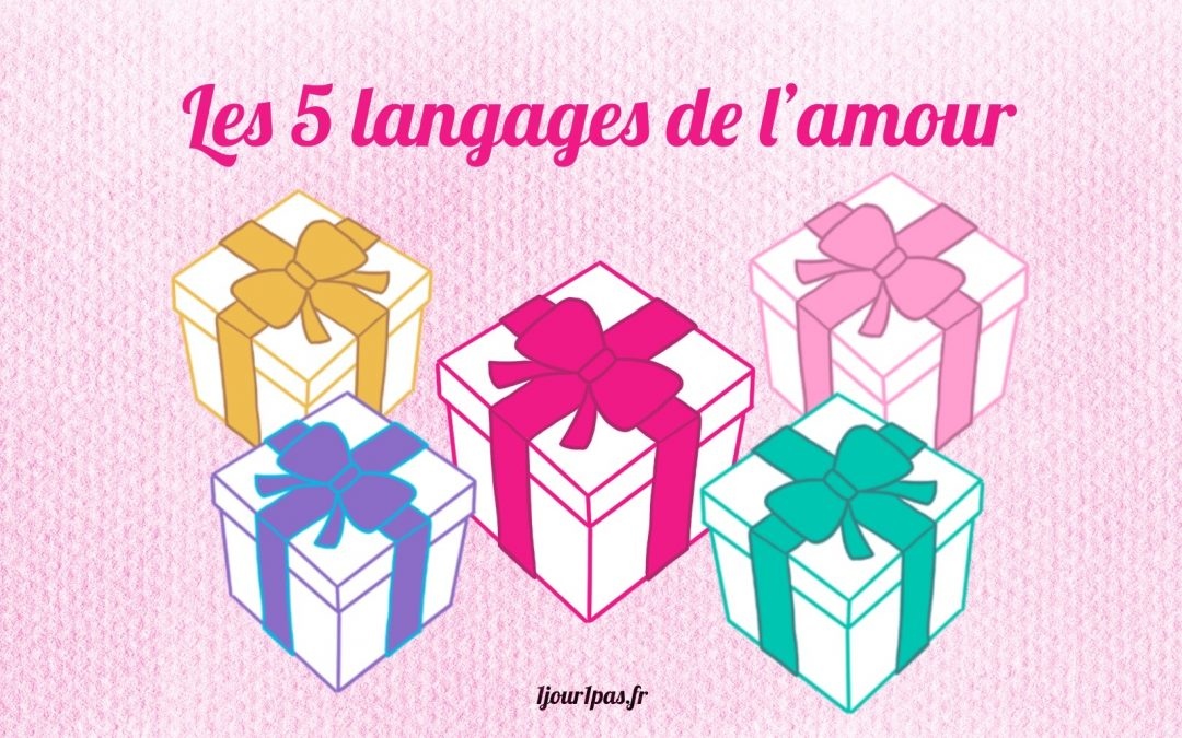 Les 5 langages de l'amour : idée cadeau pour Noël