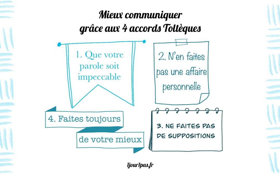 4 accords Toltèques illustration